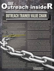 Outreach Insider, Issue 1-13 (PDF) - Texas Engineering Extension ...