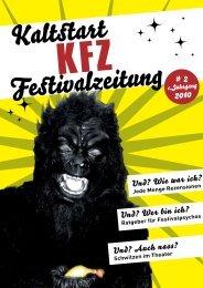 Festivalzeitung - Kaltstart Hamburg