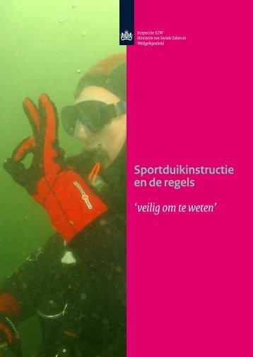 Sportduikinstructie en de regels - Inspectie SZW