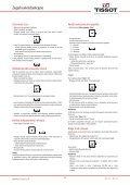 Zegarki wielofunkcyjne Instrukcja obsługi - Support - Tissot - Page 3