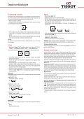 Zegarki wielofunkcyjne Instrukcja obsługi - Support - Tissot - Page 4