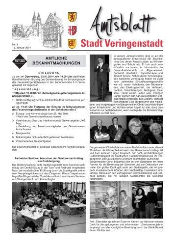 Amtsblatt KW 3 - Veringenstadt