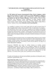 VIIIª EDICIÓN DEL CONCURSO INTERNACIONAL DE PIANO VILA ...