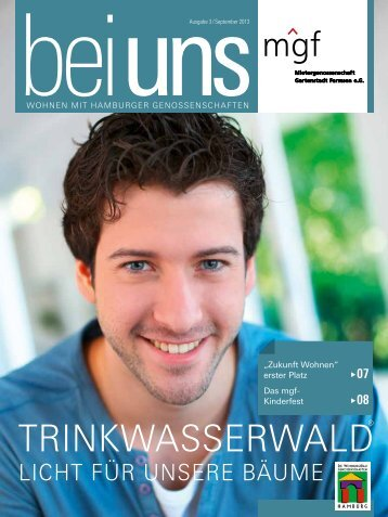 Ausgabe 3. Quartal 2013 - Mietergenossenschaft Gartenstadt ...