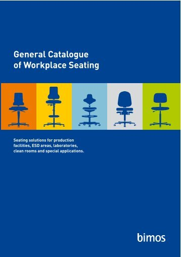 General Catalogue of Workplace Seating