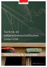 Technik im naturwissenschaftlichen Unterricht - NaT-Working ...