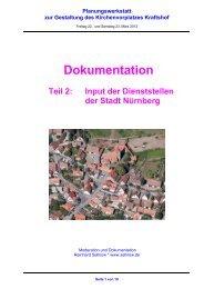 Dokumentation, Teil 2 - Stadt Nürnberg