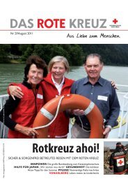 Rotkreuz ahoi! - Österreichisches Rotes Kreuz