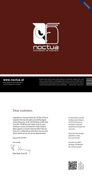 Installation Manual - Noctua.at