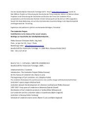 Inhaltsverzeichnis - Gesellschaft für Historische Tonträger