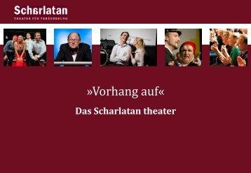 finden Sie das Portfolio des Scharlatan theaters