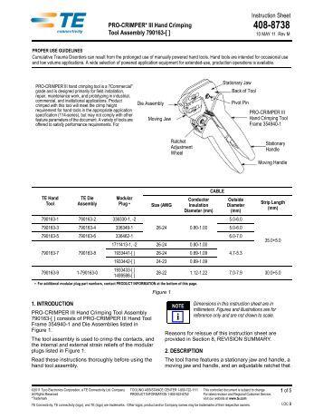 molex crimp tool instructions