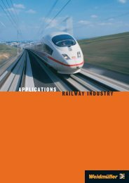 RAILWAY INDUSTRY APPLICATIONS