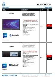 Audiomedia Multimedia Systeme - Krautli