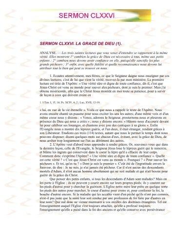 SERMON CLXXVI - La Porte Latine