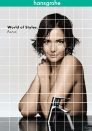 World of Styles. Focus®. - Hansgrohe