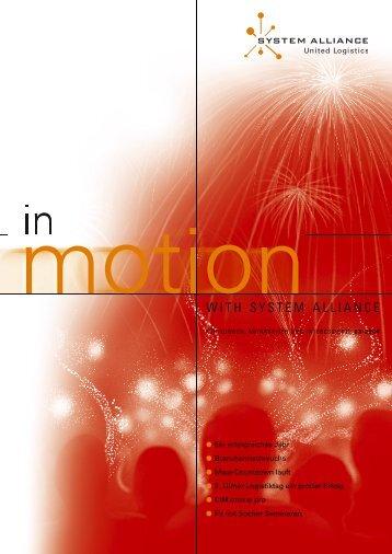 INMOTION - Ausgabe 02-B.indd - System Alliance