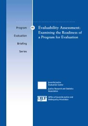 Evaluability Assessment: Examining the Readiness of a Program