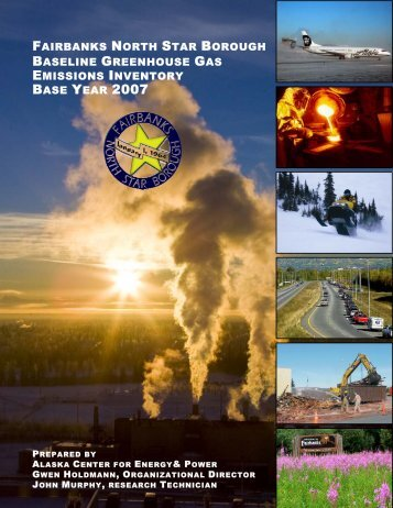 fairbanks north star borough baseline greenhouse gas emissions ...