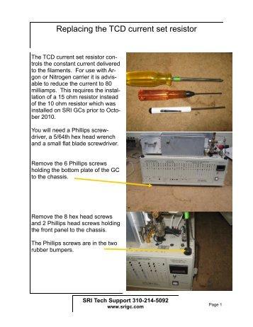 Agilent Tcd Detector Manual
