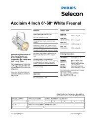 Acclaim Fresnel White - Strand Lighting