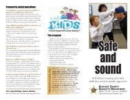 The program Self-defense training gives kids skills they need to ...