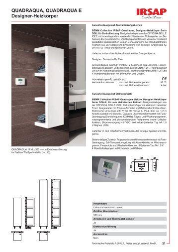 tratto tratto e designer heizk rper bemm. Black Bedroom Furniture Sets. Home Design Ideas