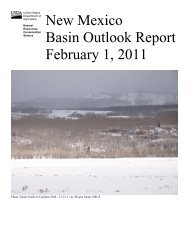 New Mexico Basin Outlook Report Feb. 1, 2011 - City of Las Vegas ...