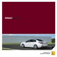 RENAULT LATITUDE - Garages Nation