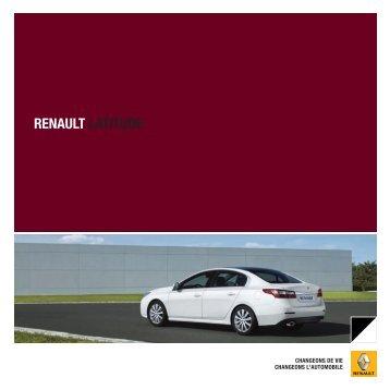 RENAULT LATITUDE - Garages Nation