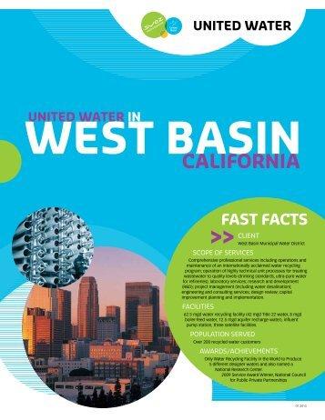 west basin california - United Water