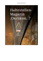 Oerlikon. 7 - Kaethe Maerz