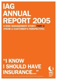 IAG annual report—Concise