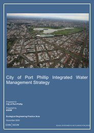 Integrated Water Management Strategy - City of Port Phillip ...