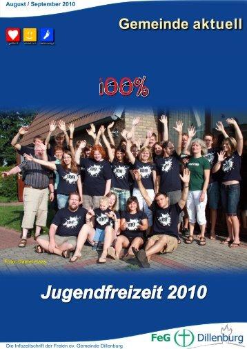 August und September 2010 - FeG Dillenburg
