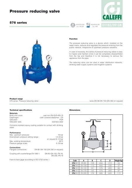 caleffi zone valve wiring diagram pressure reducing valve caleffi  pressure reducing valve caleffi