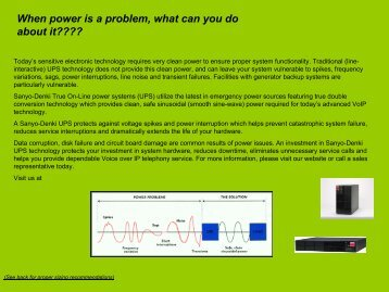 When power is a problem, what can you do about it????
