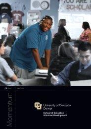 EDitions 11_04.indd - University of Colorado Denver