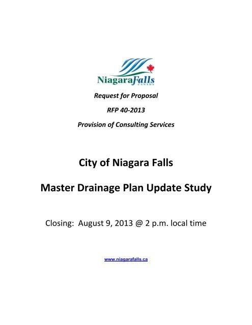 RFP40-2013 - Niagara Falls, Ontario, Canada