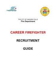 career firefighter recruitment guide - Niagara Falls, Ontario, Canada