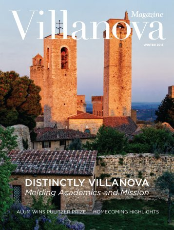 DISTINCTLY VILLANOVA - Villanova University