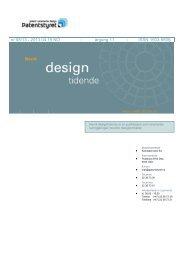 Norsk Designtidende nr 08/13 - Patentstyret