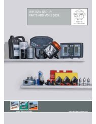 WIRTGEN GROUP: PARTS AND MORE 2009. - Resansil