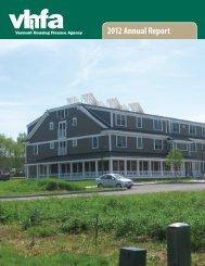 2012 Annual Report - Vermont Legislature