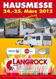 Spezielle Hausmesse- Komplett-Angebote! - Caravan Langrock