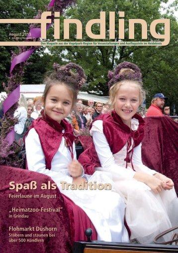 Spaß als Tradition Feierlaune im August - Findling Heideregion