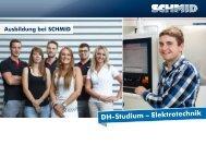DH-Studium – Elektrotechnik - SCHMID Group