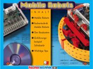 I N H A L T • Mobile Robots • fischertechnik Mobile ... - Vorlesungen