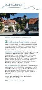Aktivangebote an Saale und Unstrut - Saale-Unstrut-Tourismus e.V. - Seite 6