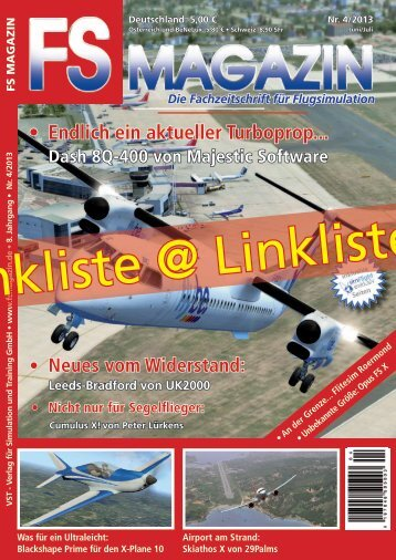Linkliste zum FS MAGAZIN 4/2013